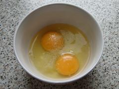 Eier in Mikrowelle kochen