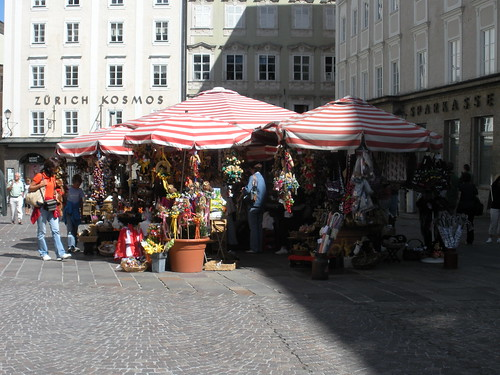 Local Markets in Salzburg Austria