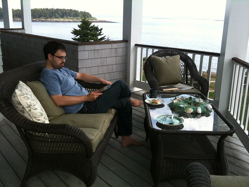 Relaxing in Maine