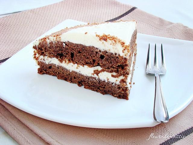 торт шоколадный со сливочным кремом 2