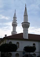 Mosque (Cumayanı camii), Ardino, Bulgaria (ali eminov) Tags: bulgaria balkans easterneurope mosques minarets ardino mosqueswithtwinminarets cumayanıcamii
