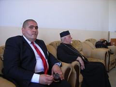 """Der armenische Erzbischof (r.) u. Direktor Khalid vom Religionsministerium • <a style=""""font-size:0.8em;"""" href=""""http://www.flickr.com/photos/65713616@N03/6033238978/"""" target=""""_blank"""">View on Flickr</a>"""