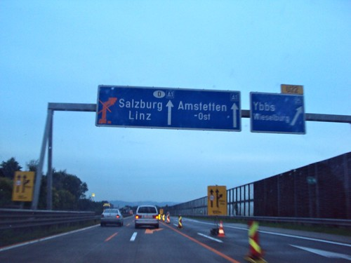 Preparation for Road trip: Budapest to Cologne, Passing Salzburg