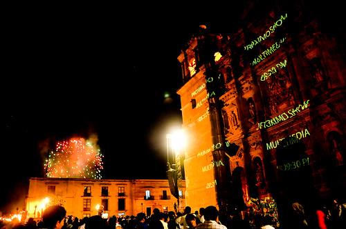Espectáculo Multimedia Catedral Oaxaca (03)