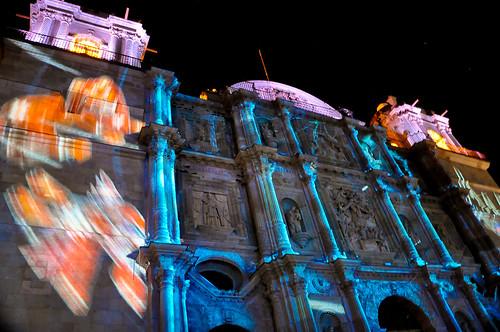 Espectáculo Multimedia Catedral Oaxaca (06)