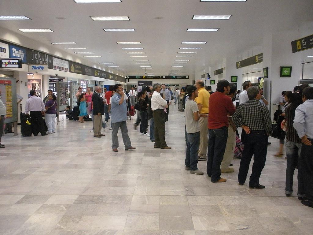 Arrivals Hall, Benito Juárez International Airport