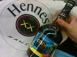 KAWS x Hennessy Collabo by billy craven