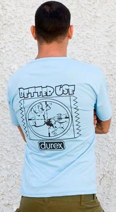 IDF durex t-shirt