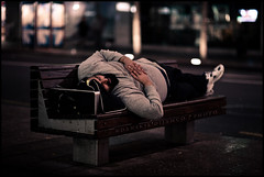Candid shot #009 (Danskie.Dijamco.Photography) Tags: street sleeping nikon nightshot candid streetphotography documentary bum paparazzi queenstreet candidshot streetportraiture nikond700 sleepinghabits danskiedijamco sigma85mmf14dghsm nightcandidshot streetphotographyatqueenstreet
