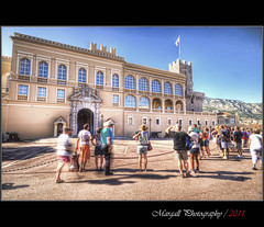 The castle of the prince - Monaco - HDR (Margall photography) Tags: people france castle photography 8 sigma prince montecarlo monaco alberto nd marco cote 1020 castello hdr azur principe marumi galletto nd8 margall