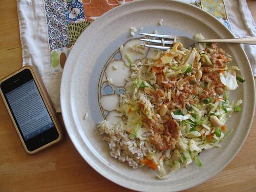 delicious vegan lunch
