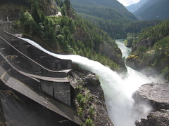 Diablo Dam (gumption) Tags: washington diablodam skagitriver northcascadeshighway