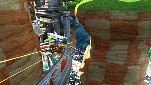 Sonic Generations Gamescom Screens