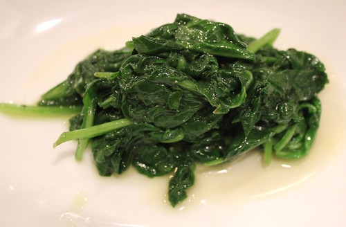 Spinach at Fat Spoon