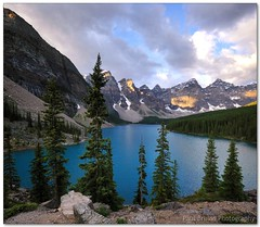 Moraine Lake Sunrise (Panorama Paul) Tags: canada sunrise alberta banffnationalpark morainelake nohdr sigmalenses nikfilters vertorama nikond300 wwwpaulbruinscoza paulzizka paulbruinsphotography annestrickland