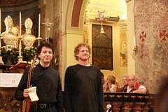 Roberto Porroni, Luca Gusella (dmambret) Tags: chitarra chitarrista moggio robertoporroni ensembleduomo lucagusella festivaltralagoemonti2011