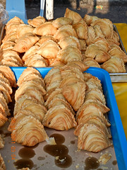 DSCN2359 Karipap , curry puff ,Ramadhan bazaar , Ipoh ,Malaysia- 2011