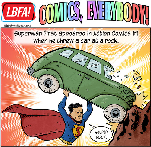 Comics, Everybody! : Superman