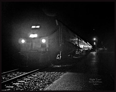 """The Night Train"" (retiredNpoor) Tags: train poem amtrac nighttrain passengertrains"