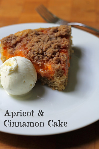 apricot and cinnamon cake