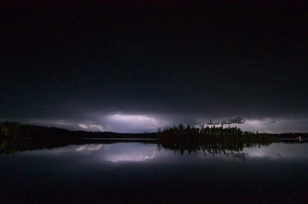 Red Rock Lake Lightning
