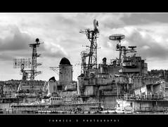 Landévennec - Croiseur Colbert (daad-art) Tags: blackwhite bretagne olympus breizh hdr colbert landévennec cimetièredebateaux croiseur c611