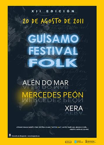 Bergondo 2011 - Guísamo Festival Folk - cartel