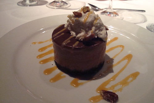 Frozen Chocolate Mousse at Blackhawk Grille