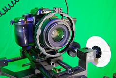 GH2 Rail System-5 (davidmichaelsimmons) Tags: lumix tripod panasonic rig pro dslr filmmaking mft gh2 railsystem externalmonitor fluidhead microfourthirds vfinder carryspeed wf718 indycompact rodeshotgunmic