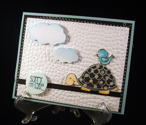 CAS-ual Friday Embossing Challenge by judkajudy