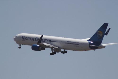 Thomas Cook 767-300 @ Tenerife Sur Airport