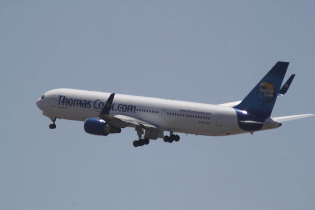 Thomas Cook 767-300 @ Tenerife Sur Airport
