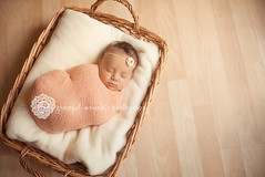 little wrapped baby (Melissa--Ann) Tags: light baby portraits natural wrapped indoor newborn