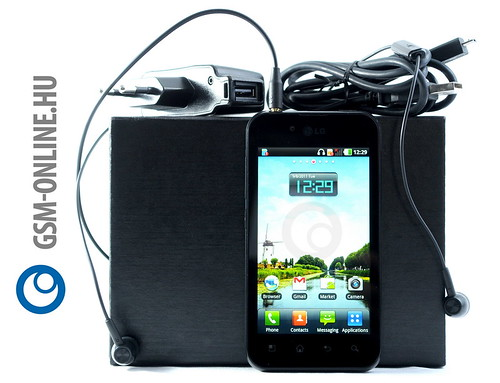 LG Optimus Black tartozékok