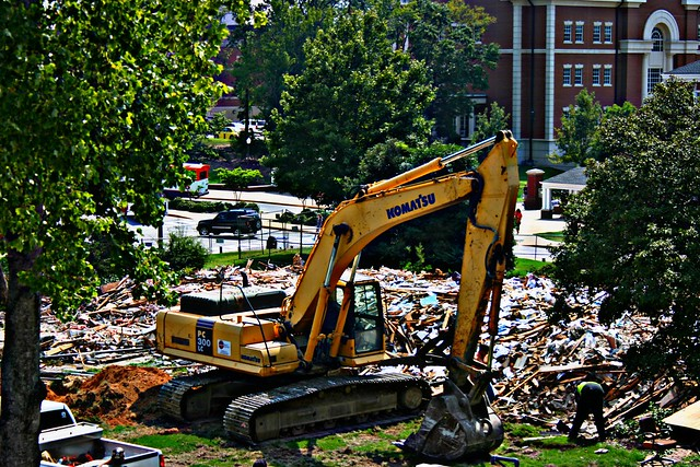The Demise of Mell Hall