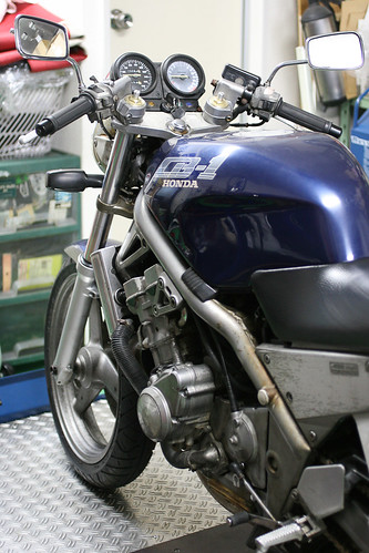 CB-1 キャブレター同調 by Motorcycle Workshop J.BOY
