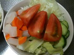 朝食サラダ(2011/8/24)
