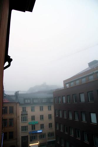 Mina grannar i dimma