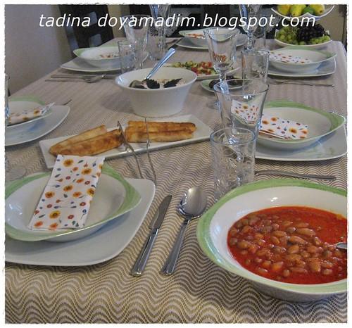 iftar daveti sofrası
