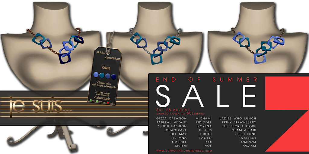 asymetrique necklace END OF SUMMER SALE @ E U P H O R I A