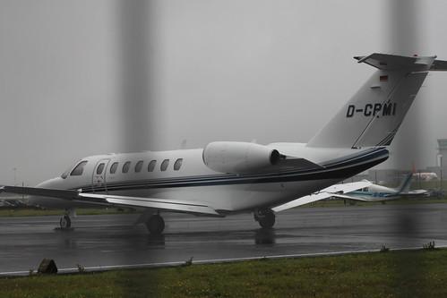 Cessna 525 CJ3 D-CPMI @ Bristol Airport
