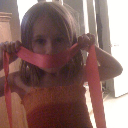@aaronvest your daughter would like you to tie her a ninja bow