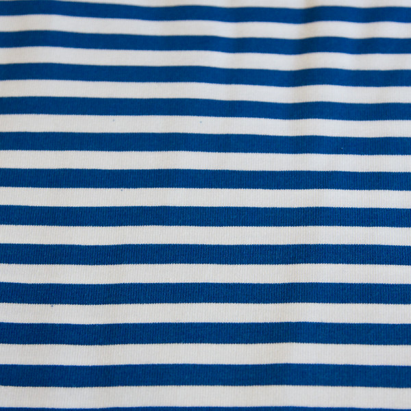 blue white stripes jersey