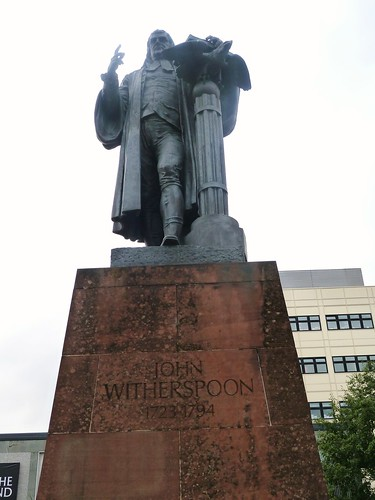 Witherspoon Statue, Paisley