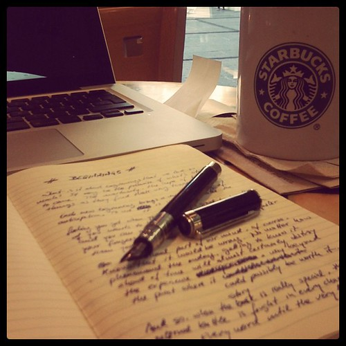 Analog Writing