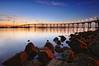 T i d e l a n d s (Lee Sie) Tags: california morning bridge reflection water marina sunrise lights bay coast rocks boulders pacificocean coronado ls tildlandsparksandiego