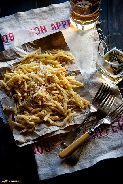 1 Kitchennotesfoodie-Parmesan Truffle French Potato Fries Idea