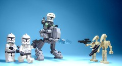 Reworking the Clonie Battlepack (jestin pern) Tags: fiction trooper reading star do with lego time space battle tags science pack your than fi wars clone pew something remake better sci revision rather droids umph battlepack