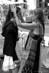 Consolation (450Davide) Tags: camera people bw white black macro canon lens photography eos photo nice body guidance daughter mother sigma 1770 anya parental és dávid fekete fehér lukács fotó 450d fénykép szomorúság lánya vigasztalás consolaton