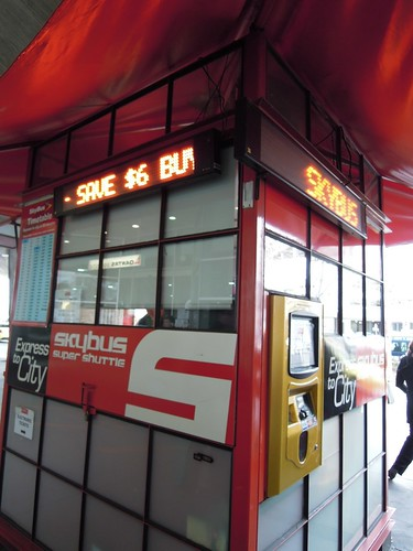 Skybus ticket counter